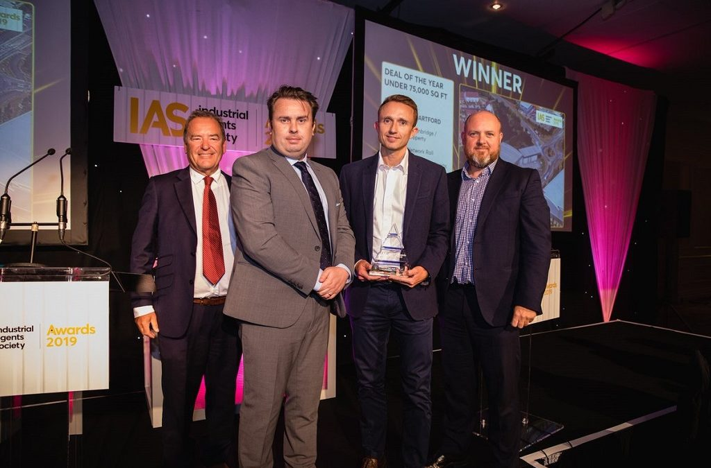Wrenbridge/Buccleuch Win Deal of the Year Under 75,000 sq ft at the IAS Awards