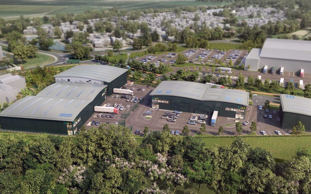 Wrenbridge and Buccleuch secure planning for prime South East Warehouse development