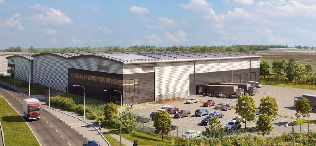 LaSalle and Wrenbridge's 120,000 sq ft industrial development is 85% pre-let ahead of PC